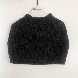 BCBG MaxAzria Knit Shoulder Warmer Cowl